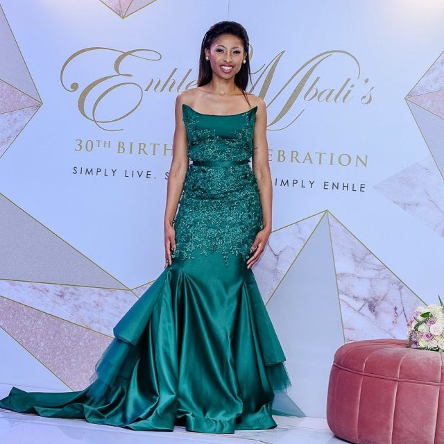 8c6d47a9c937 5 Occasions Enhle Mbali Maphumulo Slayed in beautiful attire - Sa411