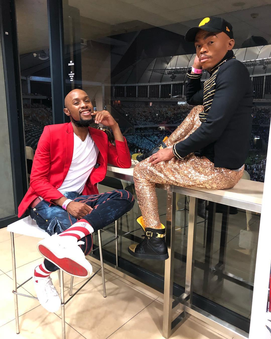 Somizi and Mohale2