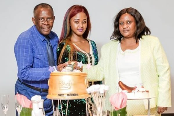Babes Wodumo and parents