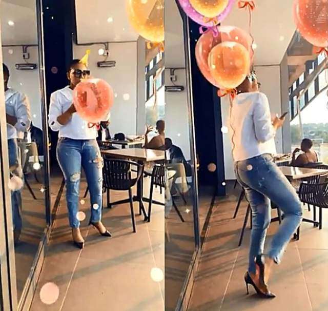 39-year-old hot woman celebrating her Birthday impresses South Africans