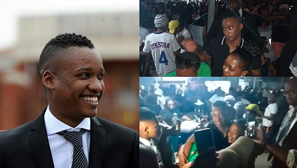 Duduzane Zuma Spotted With Ladies Causes Chaos At A Durban Wild Party Video Sa411