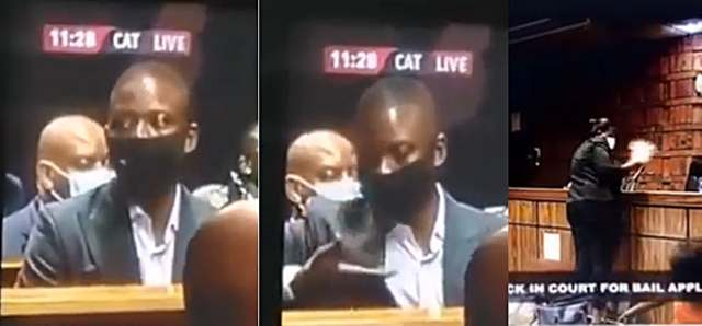 Prophet Bushiri caught live on TV allegedly instructing his people to steal docket