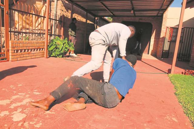 Nyaope boy caught red-handed